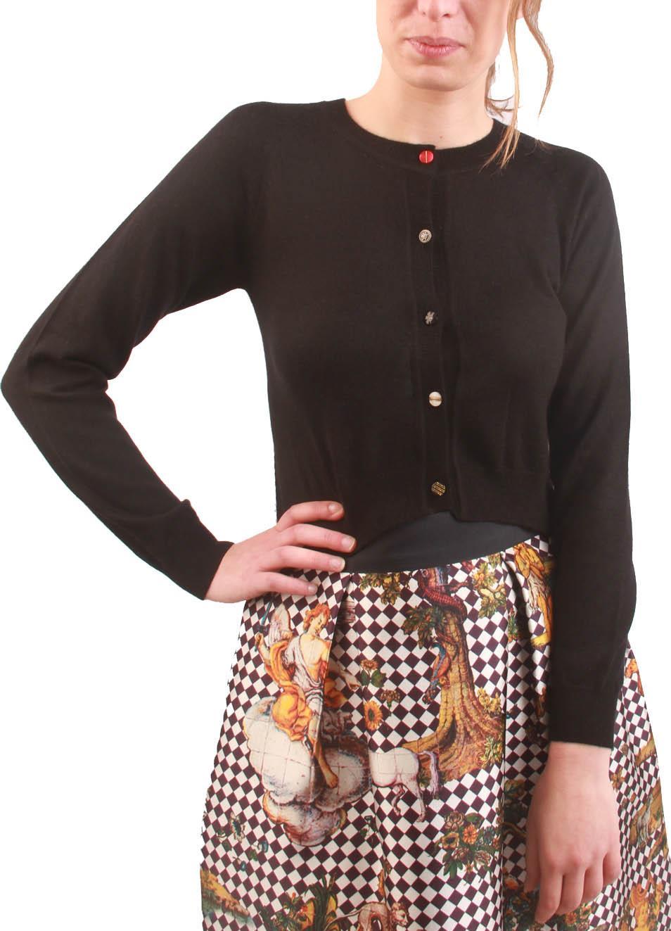 comprare popolare 47345 2e5da cashmere and silk short cardigan