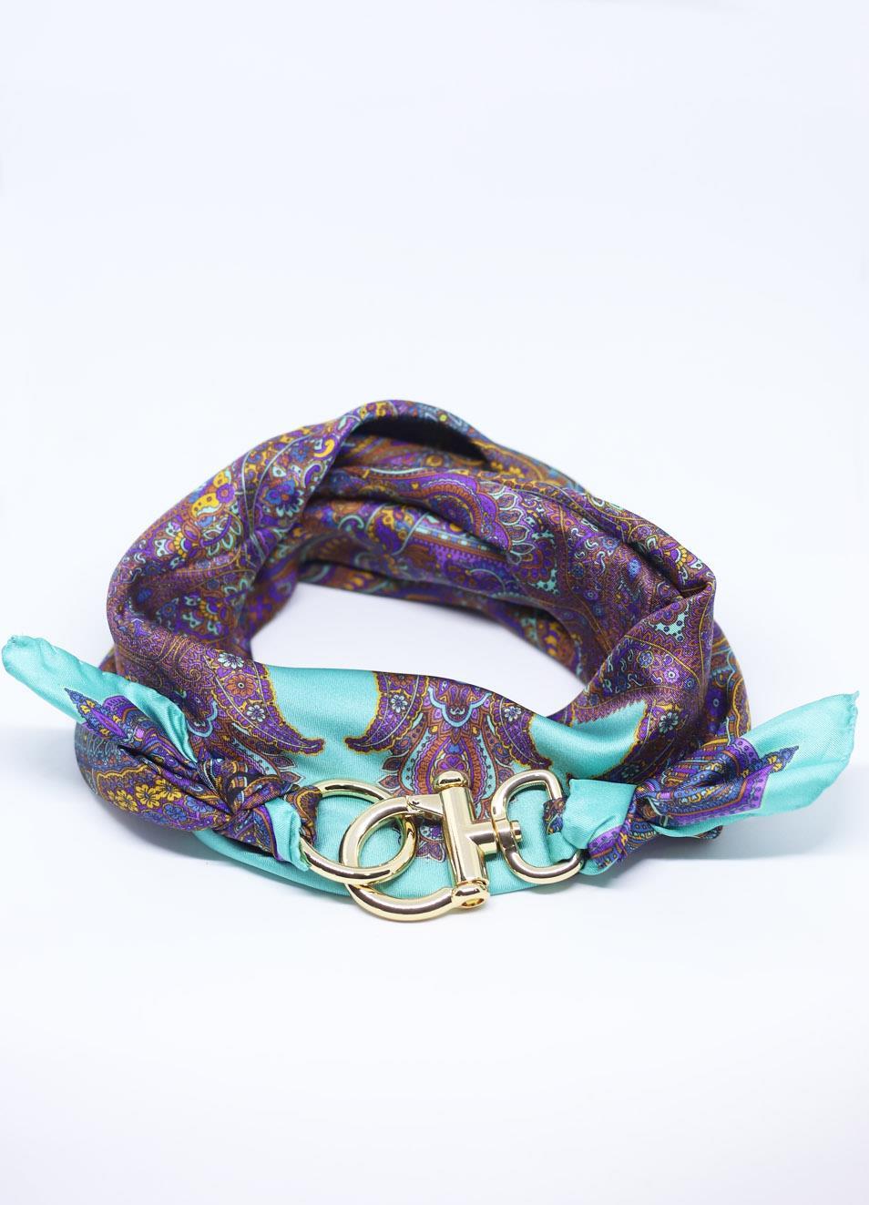migliori scarpe da ginnastica cbe96 26343 Adjustable pure silk scarf cashmere fantasy