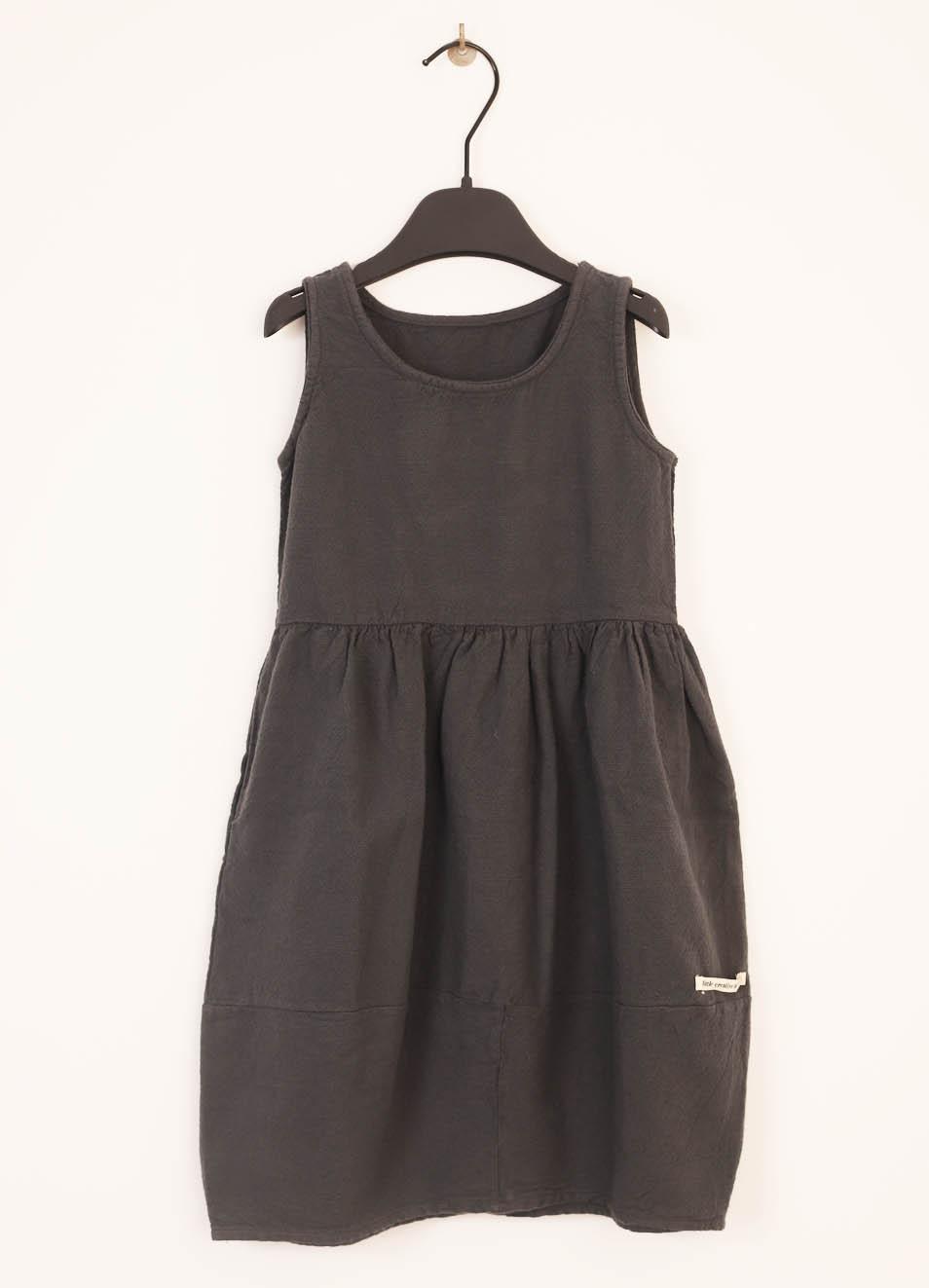 392555a81d65 Vestito grigio lungo da bambina - Little creative factory - Manecapri