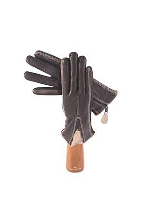 Lambskin gloves Capri Gloves | 34 | CA2408BLACKCREAM