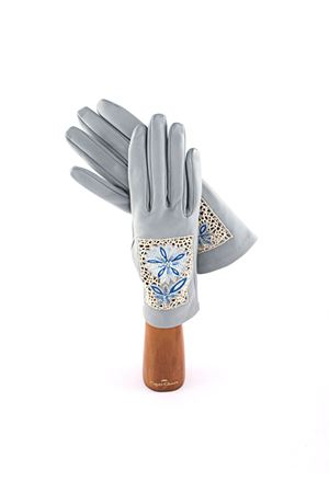 Lambskin gloves Capri Gloves | 34 | CA423BLUE