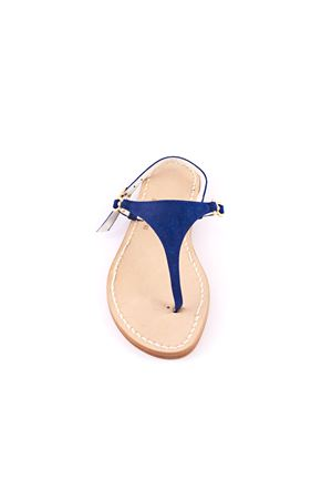 Blue suede Capri sandals Cuccurullo | 5032256 | CUC05BLU