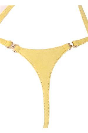 Yellow Capri triangle sandals Cuccurullo | 5032256 | CUC05GIALLO