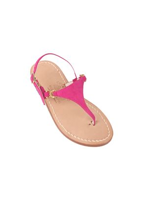 Pink Capri sandals triangle model  Cuccurullo | 5032256 | CUC05ROSA