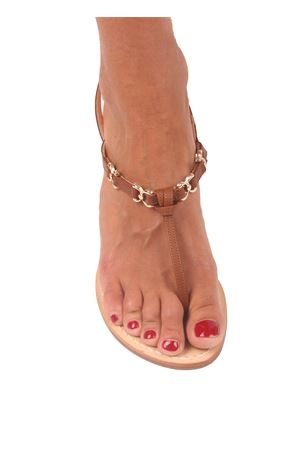 Capri sandal Cuccurullo | 5032256 | CUC07MARRINE