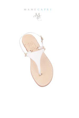 Sandalo Triangolo Caprese Cuccurullo | 5032256 | CUC10BIANCO