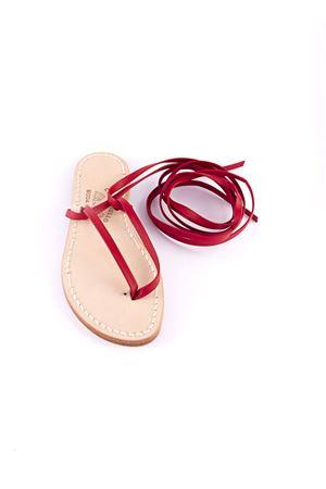 Sllave model red sandals  Cuccurullo | 5032256 | CUC11ROSSO