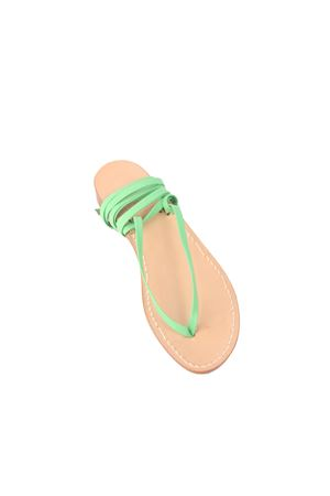 Green Capri sandals slave model Cuccurullo | 5032256 | CUC11VERDE