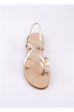 Woven Capri sandal  Cuccurullo | 5032256 | CUC13ORO