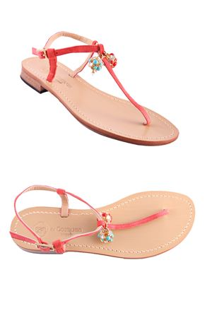 Capri Sandals with bells Da Costanzo | 5032256 | 1918CNCAMPANELLA