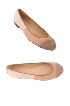 Handmade Ballerina flat shoes Da Costanzo | 5032261 | BALL/BEIGEBEIGE
