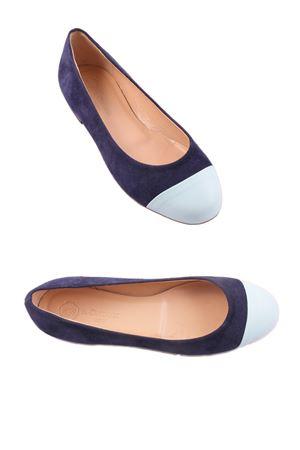 Capri Ballerina flat shoes Da Costanzo | 5032261 | BLUPUNTACELESTEMULTIBLU