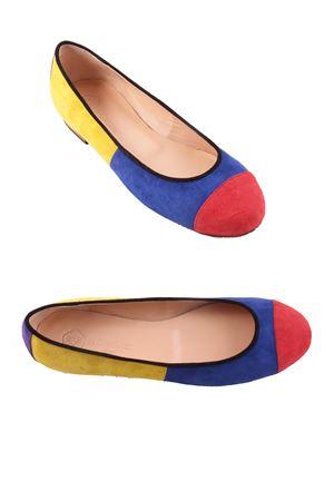 Capri Ballerina flat shoes Da Costanzo | 5032261 | CARAIBIMULTICOLOR