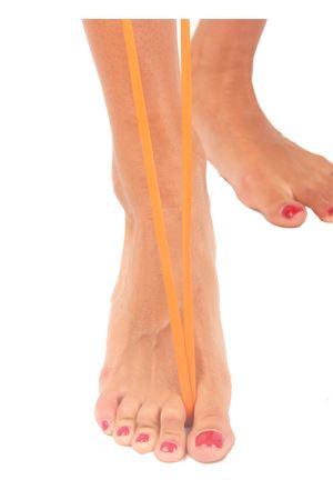 Orange Capri sandals  Da Costanzo | 5032256 | FORCA INTRECCIATAASTICE