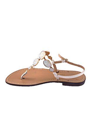 Jewel sandal Da Costanzo   5032256   S2903BIANCO