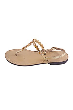 Jewel sandal Da Costanzo   5032256   S3013ORO