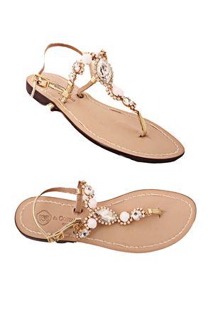 Jewel Sandals Da Costanzo   5032256   S3059BIANCO/ORO