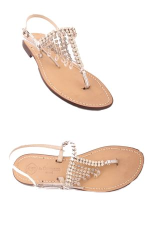 Jewel Sandals Da Costanzo | 5032256 | S3061BIANCO/SILVER