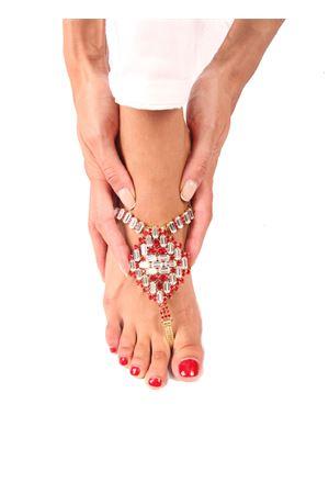 Jewel Sandals Da Costanzo | 5032256 | S3062ROSSO/ORO