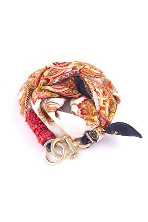 Sciarpa in seta Grakko Fashion | -709280361 | GR09ARANCIO