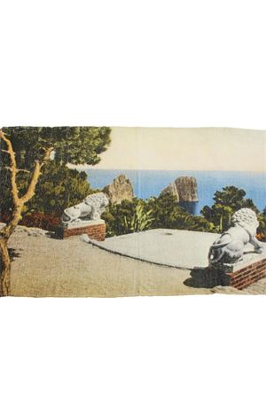 Capri postcard Plaid Laboratorio Capri | 20000024 | LAB TELO MARECARTOLINE