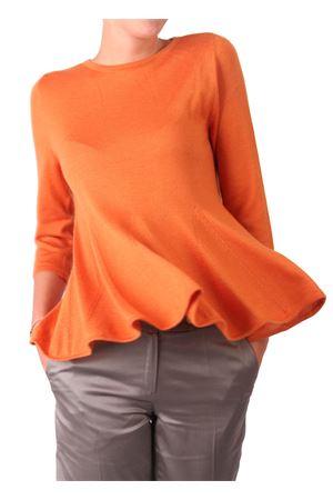 Cachemire sweater Laboratorio Capri | 7 | LAB101MAGLIASPICCHI ARANCIO