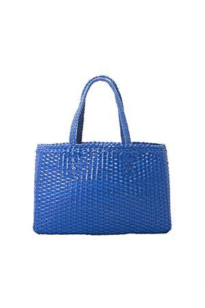 Handmade blue leather bag Laboratorio Capri | 31 | LAB51BLU