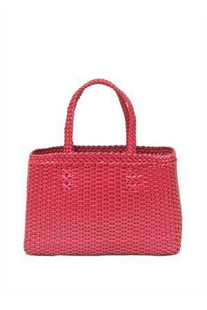 Borsa artigianale in pelle rosa Laboratorio Capri | 31 | LAB51FUXIA