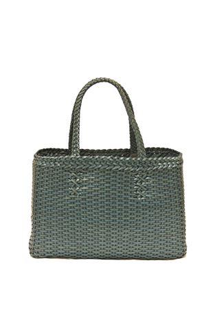 Leather handmade bag Laboratorio Capri | 31 | LAB51PETROLIO