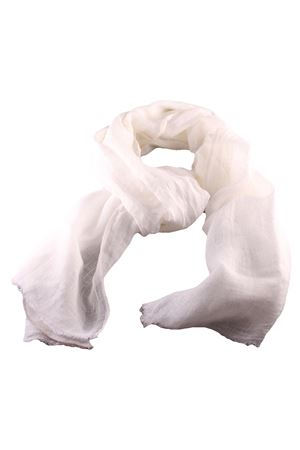 Sciarpa in lino Linomania | 77 | GR68BIANCO