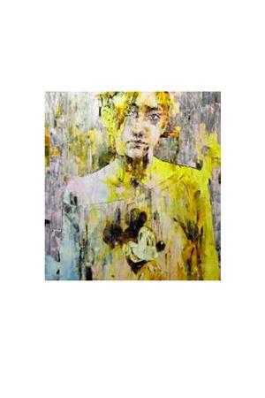 Little yellow mouse: Olio su alluminio Marco Grassi | 20000003 | 3 LITTRE YELLOW MOUSEYELLOW MOUSE