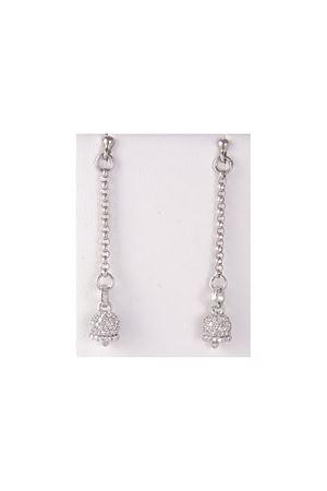Silver earrings with Capri Bell Pierino Jewels | 48 | 3026METAL