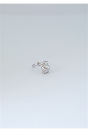 Silver adjustable ring with quatrefoil  Pierino Jewels | 5032250 | 4021ARGENTO
