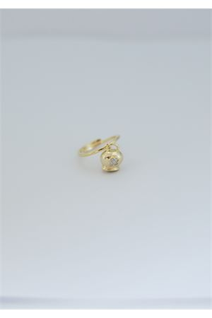 Golden silver ring with lucky Capri bell  Pierino Jewels | 5032250 | 4021ORO
