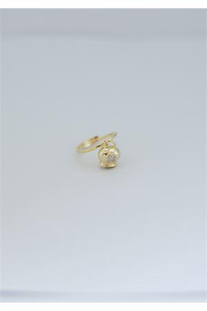 Anello in argento dorato 925 con quadrifoglio Pierino Jewels | 5032250 | 4021ORO