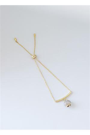 Bracciale in argento dorato con Campanella di Capri Pierino Jewels | 36 | 4022ORO