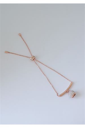 Rosy silver capri bell bracelet  Pierino Jewels | 36 | 4022ROSATO