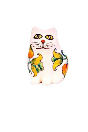 Ceramic Cat Sea Gull Capri   20000025   MICIOMICIO BIANCO