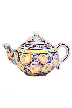 Ceramic Teapot Sea Gull Capri   20000026   TEAPOT BRBLUE ROSE