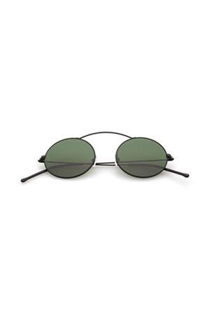 Black sunglasses model Met-ro Spektre | 53 | MET-ROBLACKDEEPGREENLENS