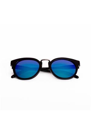 Occhiali da sole Spektre | 53 | QT01DBLACK-BLUE MIRROR