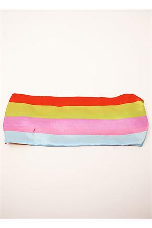 Multicolored stripes silk headband  La Dolce vista | 20000050 | FASCIASTRIPESMULTI