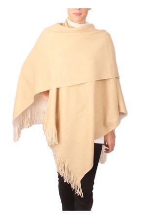 oversize shawl with fringes Aram V Capri | 1375490853 | SEFFW16-WBBIANCO