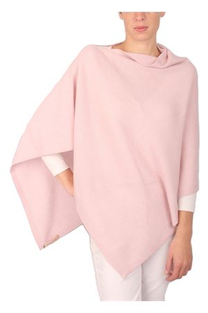 Wool and cashmere poncho Art Tricot | 52 | 2016111ROSA