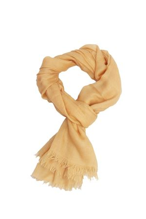 Yellow cashmere and silk scarf Colori Di Capri | 77 | COLCASHSILKGIALLO