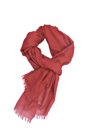 Red cashmere and silk scarf Colori Di Capri | 77 | COLCASHSILKROSSO