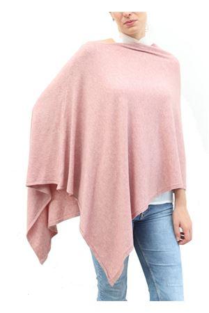 Poncho in misto lana rosa Aram V Capri | 52 | PONCHO ARAMROSA