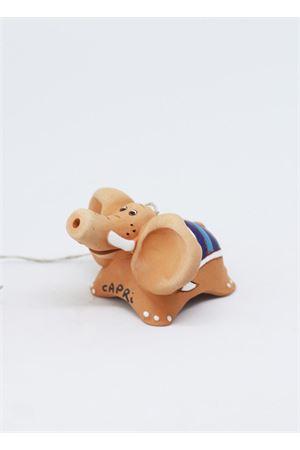 Campanella di Capri in ceramica elefante Capri Bell | 20000008 | 20100445ELEFANTE