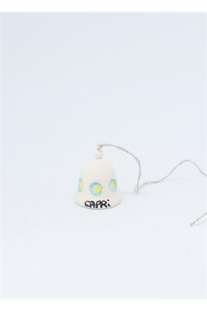 Campanella di Capri in ceramica fiori azzurri Capri Bell | 20000008 | 20102900FIORE AZZURRO