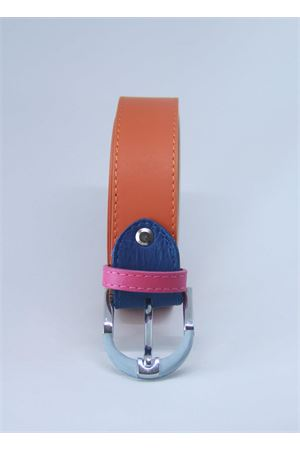 Orange leather belt Colori Di Capri | 22 | BELT CARANCIO SENAPE